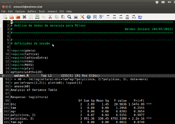 Emacs personalizado